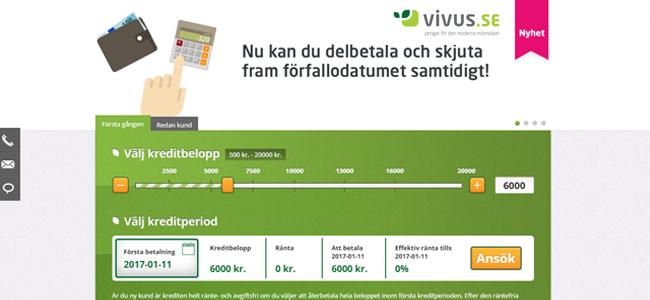 vivus-lana-pengar-gratis-utan-ranta-forsta-gangen-printscreen